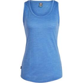 Icebreaker Sphere Mouwloos Shirt Dames blauw